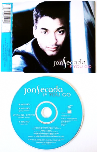 Jon Secada ‎- If You Go (CD Single Pt 1) (EX-/EX)